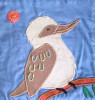 Pattern for book page -  kookaburra