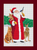Bush Animal Santa cross stitch kit from Connor & Lachie